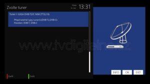 Tuner GigaBlue DVB-T2/C